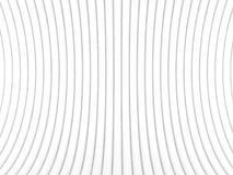 Абстрактная иллюстрация 3d над белизной Стоковая Фотография RF