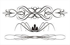 абстрактная каллиграфия Стоковое Изображение RF