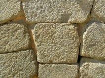Абстрактная каменная стена Стоковая Фотография