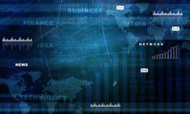 абстрактная карта сини предпосылки Стоковые Изображения RF
