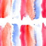 Абстрактная картина акварели Стоковое Фото