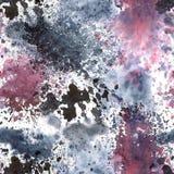 Абстрактная картина акварели Стоковые Изображения