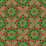 абстрактная картина безшовная Винтажная картина орнамента Исламский, Ar Стоковые Изображения RF