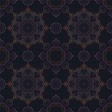 абстрактная картина безшовная Винтажная картина орнамента Исламский, Ar Стоковая Фотография RF