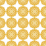 абстрактная картина безшовная Винтажная картина орнамента Стоковые Изображения RF
