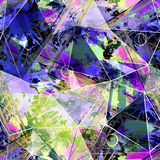 абстрактная картина безшовная Стоковое Изображение