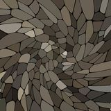 Абстрактная картина вектора камней мозаика Серый паллет цвета - Vektorgrafik бесплатная иллюстрация