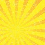 Абстрактная картина взрыва Солнця Стоковые Изображения RF