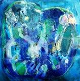 абстрактная картина выражения Стоковые Фото