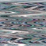 Абстрактная картина в раскосных зигзагах стоковые фото