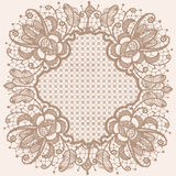 Абстрактная картина ленты шнурка круга Стоковые Фотографии RF
