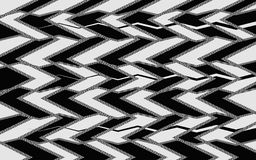 Абстрактная картина зигзага Стоковое фото RF