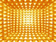абстрактная картина золота Стоковое Изображение
