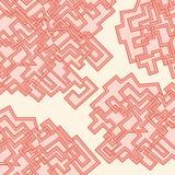 Абстрактная картина линий иллюстрация штока
