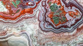 Абстрактная картина камня агата Стоковая Фотография