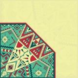 абстрактная картина карточки Стоковая Фотография RF