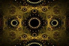 абстрактная картина конструкторов Стоковые Фотографии RF