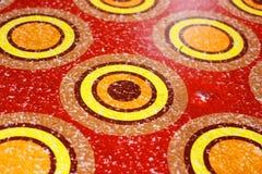 Абстрактная картина круга Стоковая Фотография RF