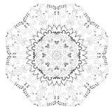 абстрактная картина круга Стоковое Фото