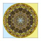 абстрактная картина круглая Стоковые Фото