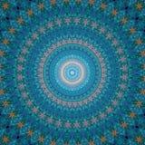 абстрактная картина мандала Стоковое Изображение