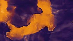 абстрактная картина маслом предпосылки Акварель на текстуре холста Текстура цвета Часть художественного произведения искусство са иллюстрация вектора