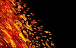 абстрактная картина маслом Справочная информация стоковые изображения