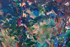 абстрактная картина маслом стоковые изображения rf