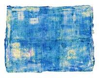 Абстрактная картина маслом изолирована на белой предпосылке Стоковое Изображение RF