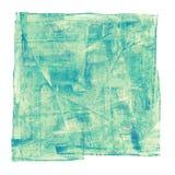 Абстрактная картина маслом изолирована на белой предпосылке Стоковая Фотография RF