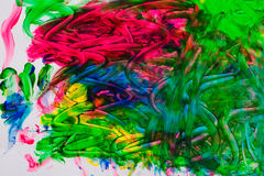 абстрактная картина маслом Стоковое Изображение RF