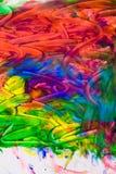абстрактная картина маслом Стоковые Фотографии RF