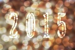 Абстрактная картина Нового Года/рождества 2015 Стоковая Фотография RF