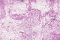 Абстрактная картина, розовая предпосылка Пурпурные пятна краски на белом холсте творческая иллюстрация aquarelle Художественное п стоковые изображения