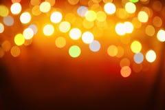 абстрактная картина света нерезкости Стоковое Изображение
