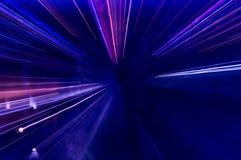 Абстрактная картина светов города Стоковое Изображение