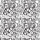 абстрактная картина сердца безшовная Стоковое Изображение RF