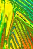Абстрактная картина с гуашями стоковые изображения