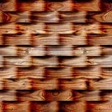 Абстрактная картина с линейными волнами - безшовная предпосылка Стоковая Фотография RF