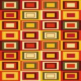 Абстрактная картина с прямоугольниками Стоковая Фотография RF