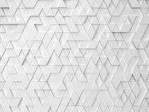 Абстрактная картина треугольника иллюстрация вектора
