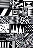 Абстрактная картина форм Стоковые Изображения RF