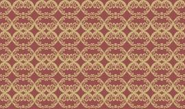 Абстрактная картина флористического орнамента Стоковые Изображения RF