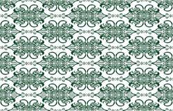 Абстрактная картина флористического орнамента Стоковые Фото