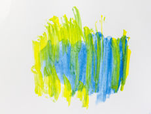 Абстрактная картина цвета акварели Стоковая Фотография