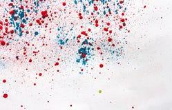 Абстрактная картина цвета акварели Стоковая Фотография RF