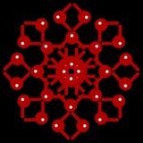 Абстрактная картина цвета Стоковая Фотография RF