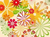 абстрактная картина цветка Стоковое фото RF