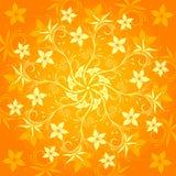 абстрактная картина цветка Стоковая Фотография RF