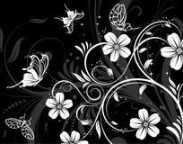 абстрактная картина цветка иллюстрация штока